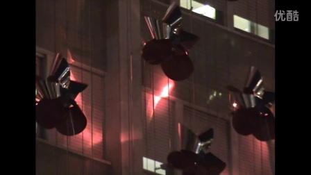 kinetic light installation, edp Lisbon, Brut Deluxe