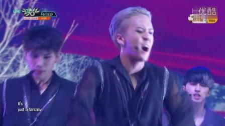 【Sxin隋鑫】[超清现场]160826 VIXX - Fantasy KBS 音乐银行 Music Bank