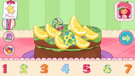 趣盒子游戏 2016 制作巧克力薄荷味生日蛋糕 644 巧克力薄荷味生日蛋糕
