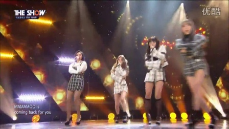 161122 Mamamoo -《Décalcomanie》@ The Show