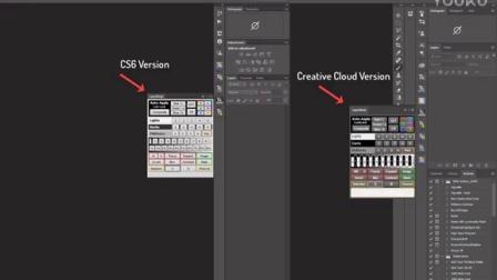 Adobe Photoshop CS6-CC 2017自定义工具栏面板TKActions V5安装教程[iiidea.cn]