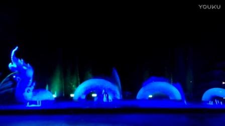 泰国普吉岛喷泉灯光音响秀