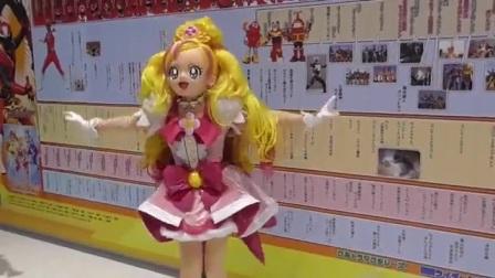 狮子转载公主光之美少女show 花神天使的单独舞蹈教学kigurumi