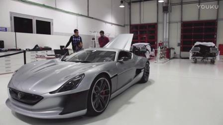 来自克罗地亚的电动超跑Rimac Concept One的制造
