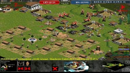 2017年5月1号越南罗马4vs4随机 - 联军 vs河内+ Gunny 第2场第1局(越南语解说)