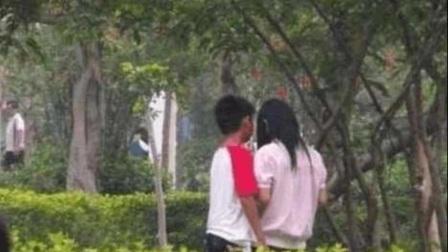 """小情侣""""公园角落""""偷尝禁果 05"""