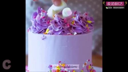 蛋糕制作合集之蛋糕淋面,韩式裱花,蛋糕围边等