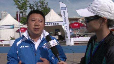 专访中国船东杯帆船赛殷志成