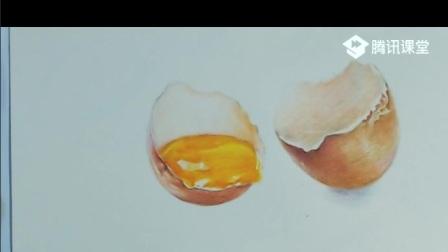 彩铅教程——鸡蛋入门画法
