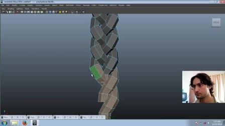 【建模技巧】辫子模型 Modeling Braid in Maya