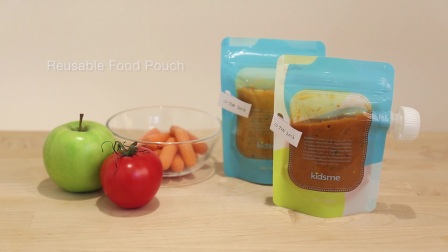 kidsme亲亲我 食物袋 Reuseable Food Pouch