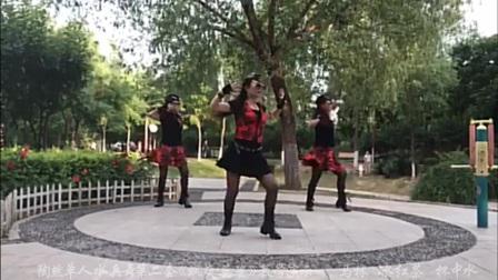 北京陶然单人水兵舞第二套《飒爽英姿》口令分解及背面演示