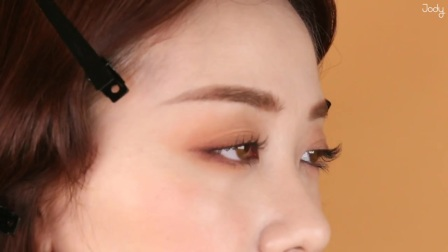 桃褐色夏日妆容 Peach Brown Summer Makeup — 조디 Jody Wearable MakeUp