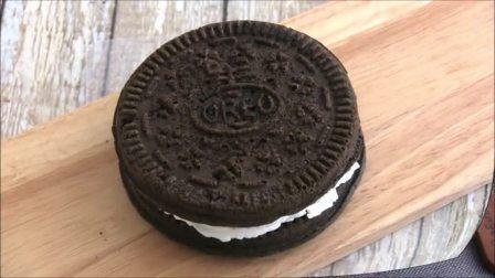 【Amy时尚世界】奥利奥形巧克力蛋糕