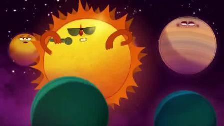 儿童科学(1016)英文儿歌《太阳系之歌》(Rap)
