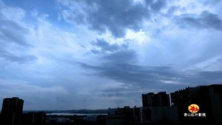 延时摄影——蚌埠高天飞云!