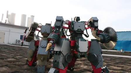 极骑兵 Archer-G 暴力战斗机器人 穿上控制器 像铁甲钢拳一样去战斗