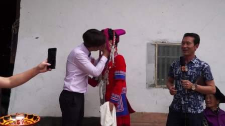 彝族结婚婚礼汉族美女嫁彝人交杯酒仪式原来是这样的