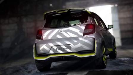全新日产Datsun GO Live Concept概念车,纯正廉价车