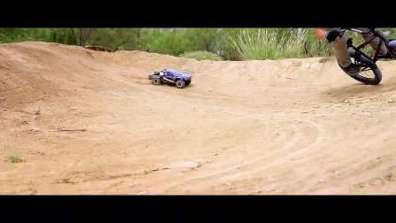Traxxas Slash 4X4 遥控车 VS BMX