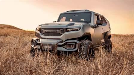Rezvani TANK越野车500匹马力V8发动机 终于可以不买奔驰G了