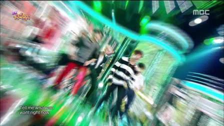 【百度田柾国吧】141025 音乐中心 BTS - 荷尔蒙战争