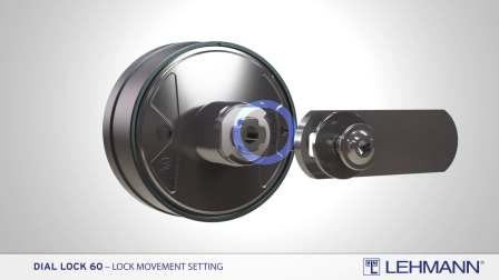 Dial Lock 60 - 锁体运行设置