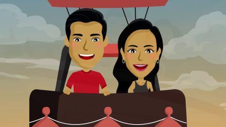 【婚礼动画】Bharath 与 Rekha | 我们的爱情故事