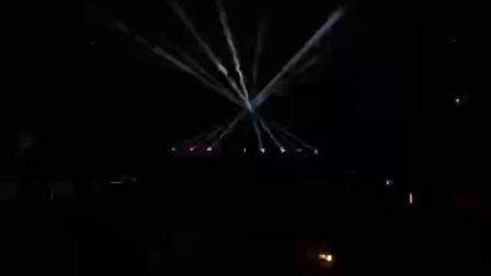 华建电视剧极客江湖开机发布会灯光秀