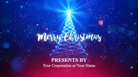 英文外贸圣诞电子贺卡