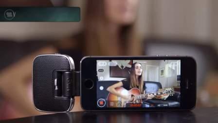 BLUE:MIKEY/数字米奇麦克风分别在iPhone和iPad录制效果展示