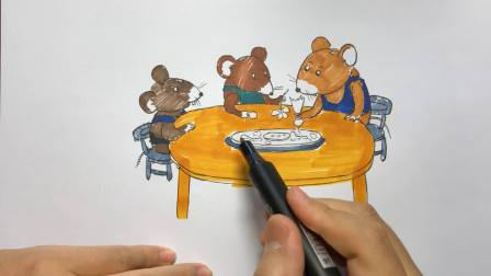 Draculablood手绘漫画故事《最好吃的蛋糕》