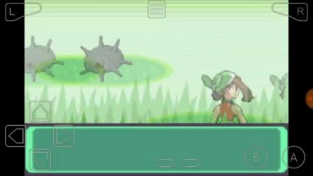 阿洛 口袋妖怪 绿宝石802 No.1 第一道馆就有神兽