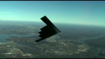 B-2轰炸机展示精确打击能力!