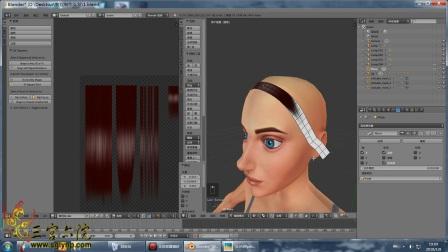 三宫六院《模拟人生4》mod制作教程—头发制作第一课