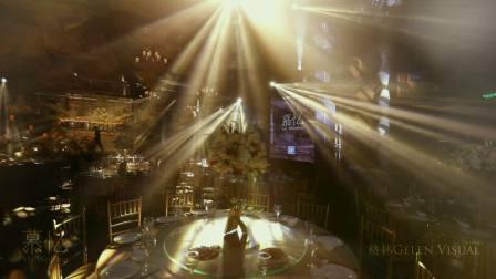格林视觉作品 慕忆婚礼《巴比伦之光》搭建纪录短片