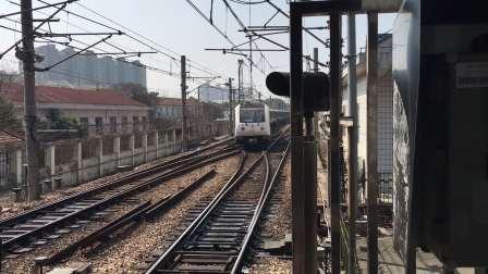 比利《上海地铁1号线》119 AC-06胖头鱼143号车莘庄折返