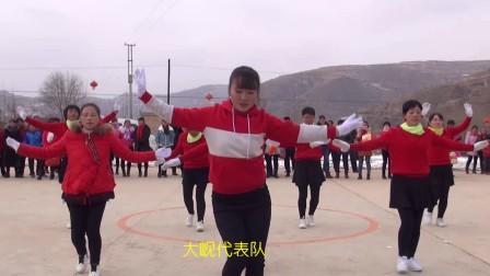 2018年甘肃省渭源县路园镇峪岭村广场舞