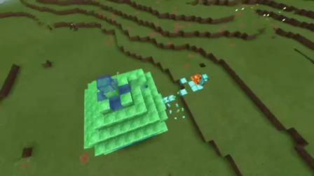 MC动画-菜鸟和高手的对比-BLUE SLIME