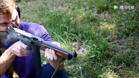 汤普森冲锋枪的射速