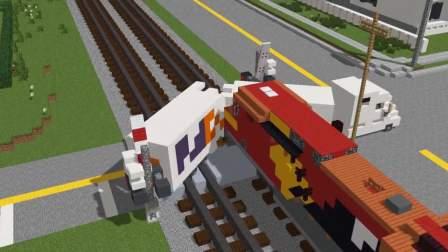 MC动画-停不下来的火车-02-CraftyFoxe