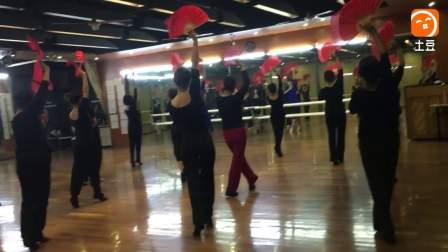 扇舞《黄梅戏变奏》