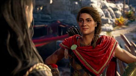 Ubisoft E3 2018《刺客信条:奥德赛》宣传片+试玩演示