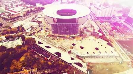 世界杯城市巡游之叶卡捷琳堡 战斗民族另类爆改体育场