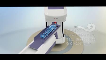 医疗设备伽马刀治疗肿瘤过程三维动画巨浪视觉
