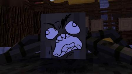 我的世界动画-花式翻水瓶挑战赛-GhostBlock
