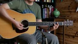 音色更加成熟!马丁martin d35 吉他评测