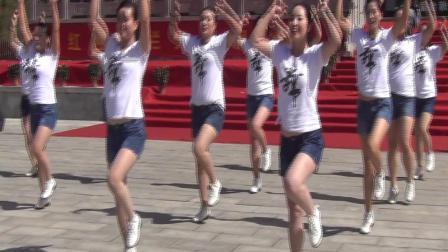 陕西阳光影像传媒2018旬邑第五届金秋旅游节_舞蹈《厉害了我的国》土桥舞娘子军