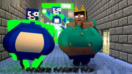 我的世界动画-胖Herobrine要当塔尔斯-MrFudgeMonkeyz