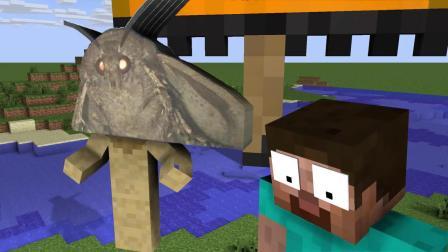 我的世界动画-怪物学院-蛾灯挑战-CraziCreators